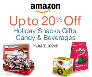 up to 20% off snacks