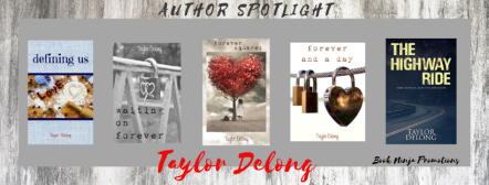 author spotlight taylor delong